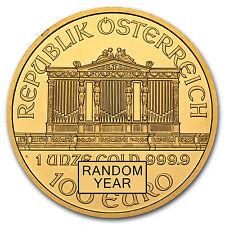 1 oz Gold Austrian Philharmonic Coin - Random Year Coin - SKU #13