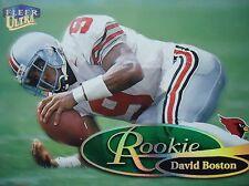 NFL 267R David Boston Rookie Fleer Ultra 1999