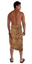 1 World Sarongs Mens Feline 17 Mens Sarong Wrap Lava Lava Sulu Toga