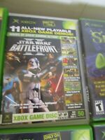 XBOX Magazine #50 Playable Game Disc 11 Demos Nov 2005 Star Wars, NCAA 06... PP8
