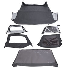 For 1997 2006 Jeep Wrangler Premium Replacement Soft Top Upper Skins 6pcs Fits Wrangler