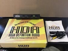 HDA High Definition Audio Model# HDA 100 Stereo Cords NOS working With Manual