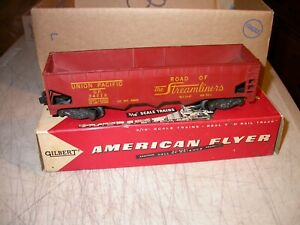 24216 American Flyer S Union Pacific Hopper with Box