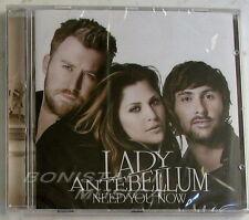 LADY ANTEBELLUM - NEED YOU NOW - CD Sigillato