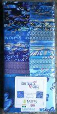 Benartex STRIP PIE - Butterfly Jewel.  100% Cotton