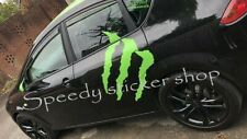 1x Large monster energy claw car van side sticker decal 70cm x 57.2cm