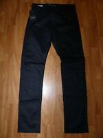 Neue Jack & Jones Herren Jeans Glenn Gr W30/L32 Schwarz Stretch Slim Fit