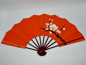 Vintage Geisha Odori 'Maiogi' Folding Dance Fan