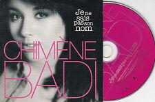 CD CARTONNE CARDSLEEVE COLLECTOR 1T CHIMÈNE BADI JE NE SAIS PAS SON NOM 2004