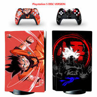 Dragon Ball #5 Vinyl Skin Sticker Full Set for Sony PS5 Console Disc Version
