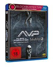 Alien vs.versus Predator 1+2 Lance Henriksen 2004+2007 2 Blu-Ray Box