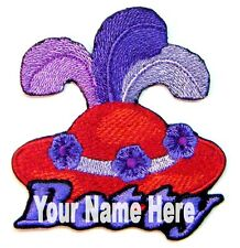 Red Hat Custom Iron-on Patch With Name Personalized Free