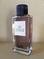 New Rare D&G 10 La Fortune La Roue De EDT Eau de Toilette 3.3oz Spray USA Sellr