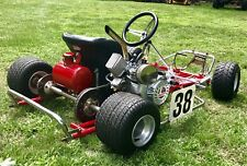 Vintage Go Kart 1970's By TRICK RACING KARTS Fresh Restoration Powerful Engine