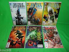 Batman Superman #1 2 3 3.1 4 5 #1-5 Complete Set Run 1st Print New 52 DC Comics
