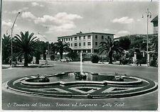 CARTOLINA d'Epoca ASCOLI PICENO -  San Benedetto del Tronto: Fontana Lungomare