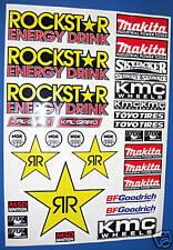 Autocollants RC CORR Autocollants associés SC10 Traxxas Slash