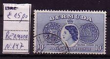 BERMUDA  ;  USED - USATO ;  YVERT n. 43   ;   10 S  ;  A43