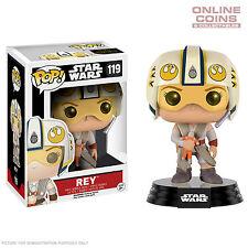Star Wars Rey X-Wing Helmet Episode VII The Force Awakens US Exclusive Pop Vinyl