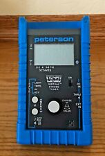PETERSON VIRTUAL STROBE TUNER VS-1.  WITH CASE, ADAPTER, INSTRUCTIONS, BOX. USED