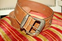 Banana Republic Hand Waxed Bridle Leather Belt Made in England 28