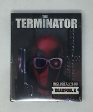 The Terminator (Blu-ray) NEW w/ Exclusive Deadpool Photobomb Slipcover, Sealed