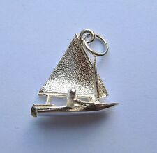 Sterling Silver Sailing Boat Charm