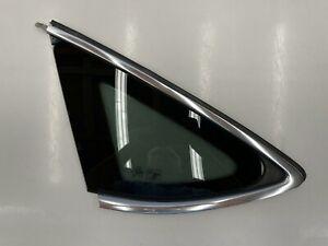 2012 - 2018 AUDI A7 S7 RS7 - REAR LEFT DRIVER SIDE QUARTER WINDOW GLASS OEM