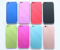 Color Back Rear Housing Battery Door for iPhone 6 Replacement to iPhone 7 Mini