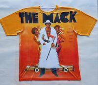 Custom The Mack T Shirt  70s movie black sublimation