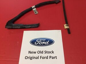 NOS Ford Mustang 1965-66 Vent Weatherstrip Left (drivers) & Vent Division Bar