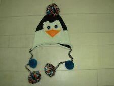 """Bonnet """"Pingouin"""" 6/8ans environ"""