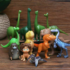 12pcs The Good Dinosaur Cake Topper Figure Toys Arlo Spot Budda Ramsey Kids Toy