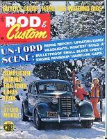 Rod & Custom Magazine March 1973 Un-Ford Scene EX No ML 051417nonjhe