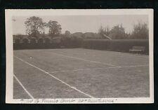 Gloucestershire BRISTOL Downend  Newhaven Tennis Court RP PPC 1920