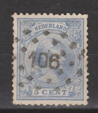 NVPH Netherlands Nederland 35 used CANCEL TILBURG (106) Wilhelmina 1891-1894