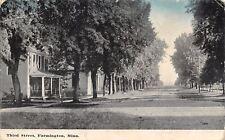 Farmington Minnesota~Enclosed Porch on Home on Shady, Dirt Third St 1910 As Is
