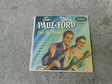 "Les Paul Mary Ford-Bye Bye Blues! -2 x 7""-gf - Capitol EBF 356-Ultra Rare!"