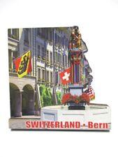 Bern Bois Souvenir Aimant Suisse Suisse Neuf