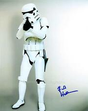 FRANK HENSON as a Stormtrooper - Star Wars GENUINE AUTOGRAPH UACC (R2434)