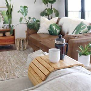 Couchmate| The Best Selling Bamboo Multi-Fit Couch Arm Table