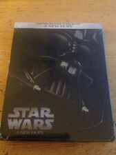 Star Wars A NEW Hope(Blu-ray Disc, 2015, Steelbook)NEW Authentic US
