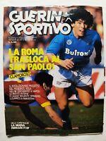 GUERIN SPORTIVO 12-1987 +FILM MARADONA +POSTER NAPOLI TRICELLA PASSARELLA FUNES