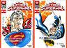 Rare SUPERMAN and BATMAN Color Sketch Cover Set! DC! Al Bigley! Original Art!