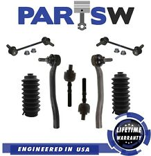 8 Pc New Front & Rear Suspension Kit for Honda Prelude 1997-2001 Tie Rod Ends