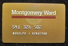 Montgomery Ward credit cardâ—‡free shipâ—‡cc1821