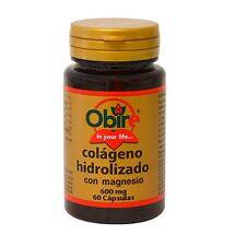 Collagen Marine Hydrolyzed 600mg & Magnesium Obire Colageno - FREE SHIPPING !