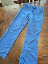 Womens Greys Anatomy Scrub Pants Small Regular Royal Blue