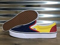 Vans Classic Slip-On OTW Rally Skate Shoes Multi-Color Check SZ 9 (VN0A4BV3V3D)