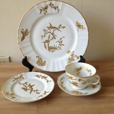 Lovely Bernardaud Limoges Reine Elisabeth Queen Elizabeth 4 pce place setting